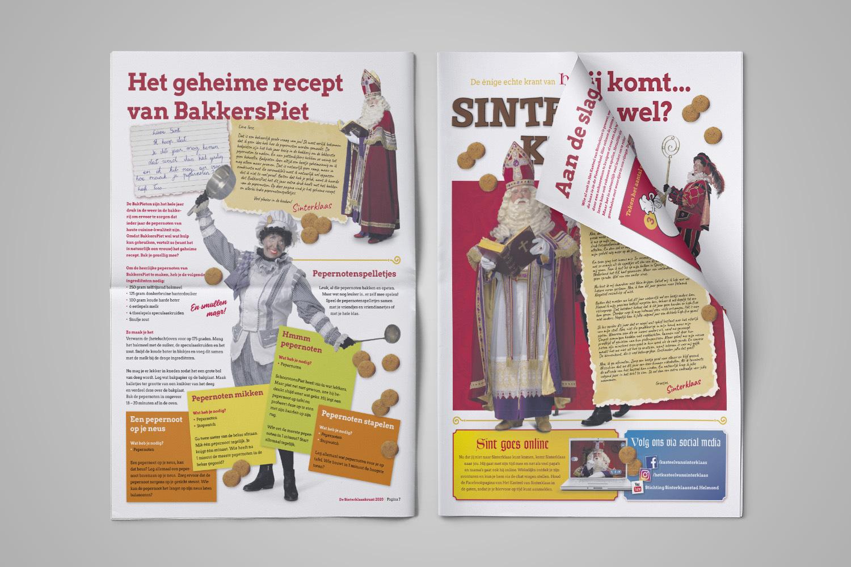 Sinterklaas Krant - Reclamestudio GO