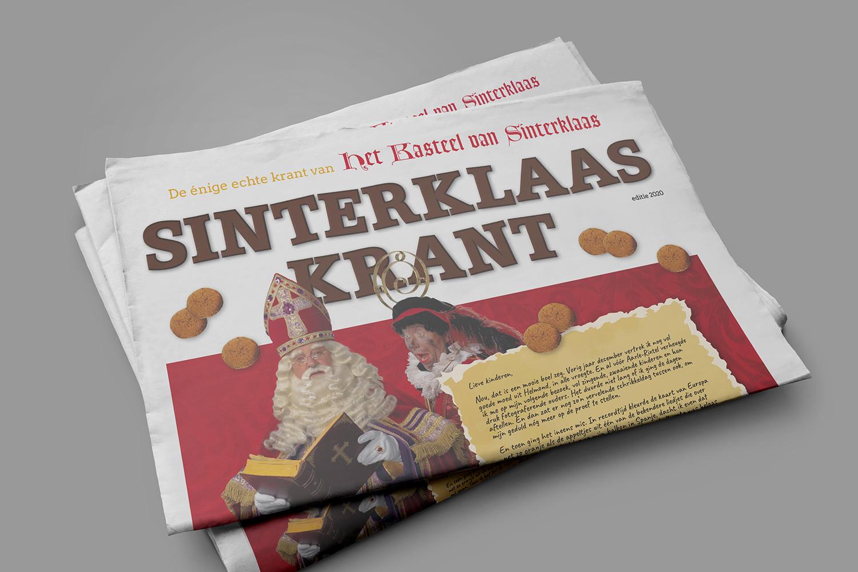 Sinterklaaskrant - Reclamestudio GO