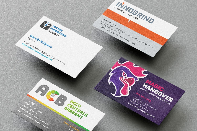 Visitekaartje laten ontwerpen
