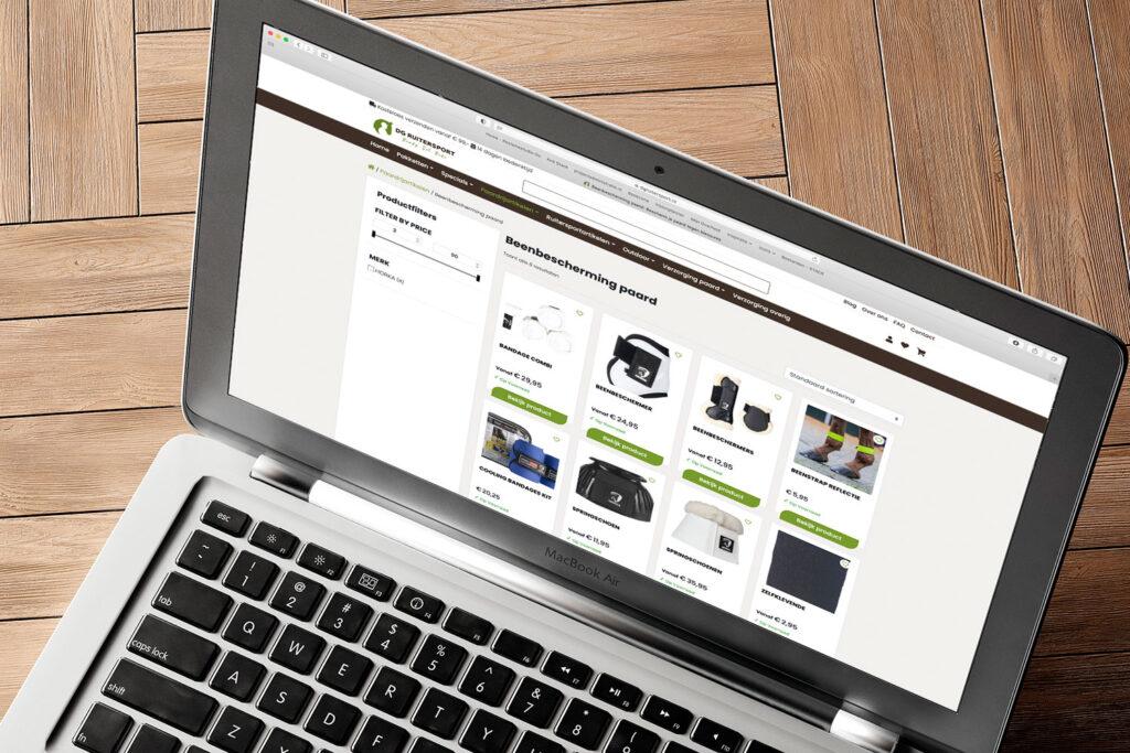 Webshop laten designen